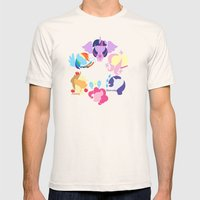 Mane Six 2 Mens Fitted Tee Natural SMALL