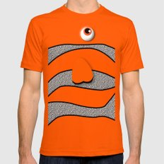 Ornamental Orange Fish Apple iPhone 4 4s 5 5s 5c, ipod, ipad, pillow case and tshirt Mens Fitted Tee Orange SMALL