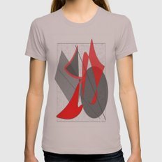 EliBArt Digital Womens Fitted Tee Cinder SMALL