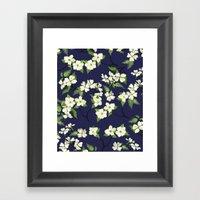 April Blooms(Dogwoods_bl… Framed Art Print