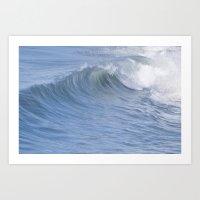 Wave Watching Art Print