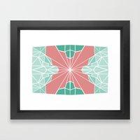 The Deco Framed Art Print