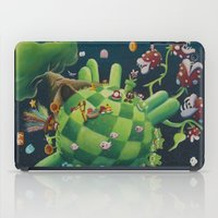 The consoling planet iPad Case