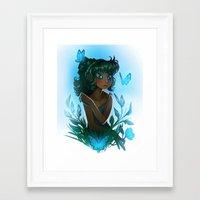 Maggie's Garden Framed Art Print