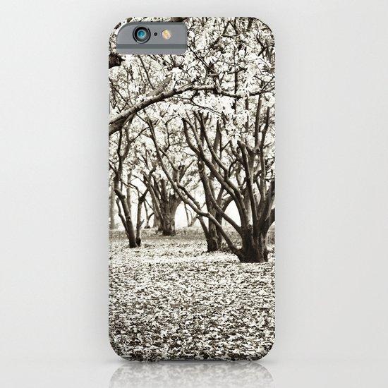 Magnolias in Black & White iPhone & iPod Case