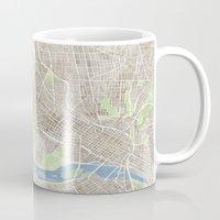 Richmond Virginia City Map Mug