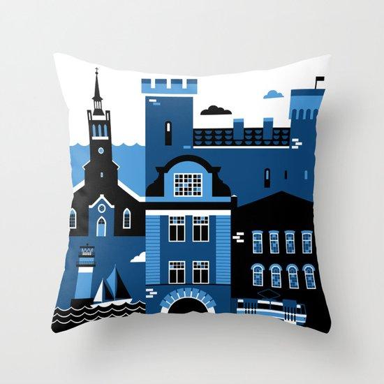 Tallinn Throw Pillow