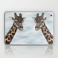 Giraffe Fun Laptop & iPad Skin
