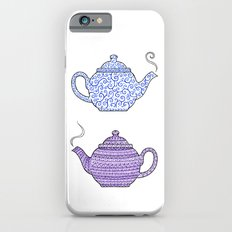 Patterned Teapots Slim Case iPhone 6s