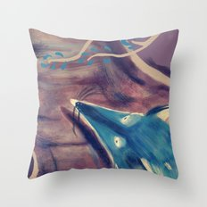 Autumn Fox Throw Pillow