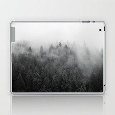 Black and White Mist Laptop & iPad Skin