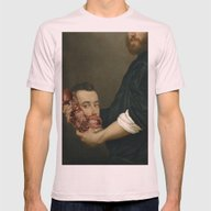 Study Of Anatomy Mens Fitted Tee Light Pink SMALL