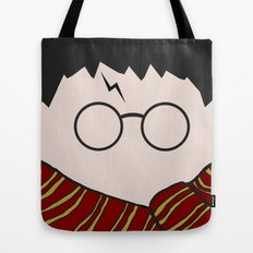Harry Potter Minimalist Tote Bag