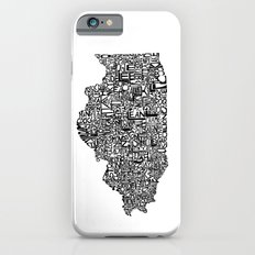 Typographic Illinois Slim Case iPhone 6s