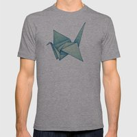 High Hopes | Origami Cra… Mens Fitted Tee Athletic Grey SMALL