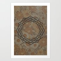 Geometrical 008 Art Print