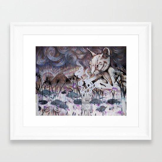 The Myth of Power Framed Art Print