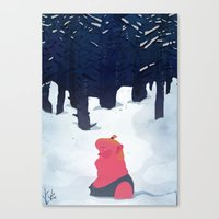 the age of curious Canvas Print