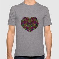 I Heart Mens Fitted Tee Athletic Grey SMALL