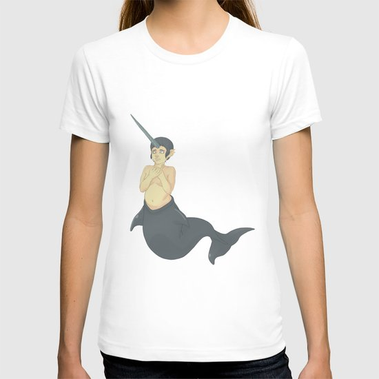 Narwhal Mermaid T-shirt