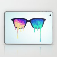 Psychedelic Nerd Glasses… Laptop & iPad Skin