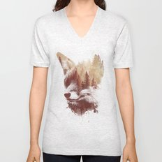 Blind fox Unisex V-Neck
