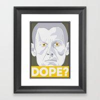 Lance Armstrong - Still Dope or Just Dope? Framed Art Print
