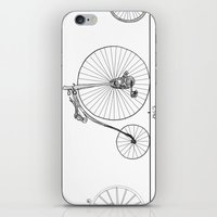 Evolution of Bicycles iPhone & iPod Skin
