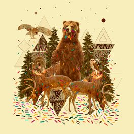 All Over Print Shirt - YOUNG SPIRIT IN THE WOODS - Kris Tate