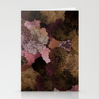 FLORAL PINKS Stationery Cards
