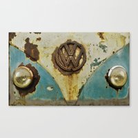 VW Rusty Canvas Print