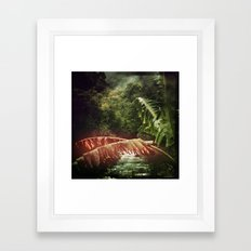Let's Escape to Wilderness - Version II Framed Art Print