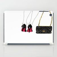 Red Soles iPad Case