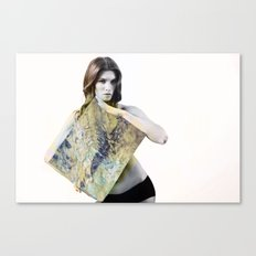 untitiled with tits  Canvas Print