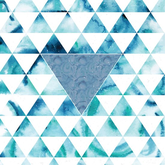 Triangle Sky Art Print
