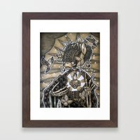 Madre Naturaleza Framed Art Print