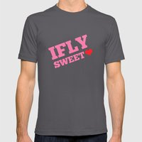 IFLY Sweetheart Mens Fitted Tee Asphalt SMALL