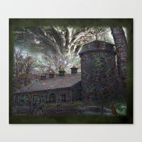 Dreaming ~ Silent Screaming Canvas Print