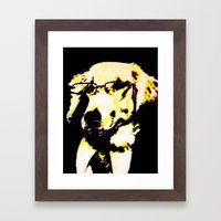 The Professor Framed Art Print