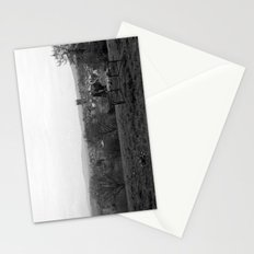 Bench over the Town Stationery Cards