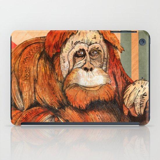 Mr. Orangutan iPad Case