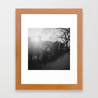 Two Boys in Berlin Framed Art Print