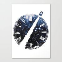 Journey through space and time Canvas Print
