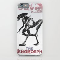 iPhone & iPod Case featuring Save The Xenomorphs by Berta Merlotte