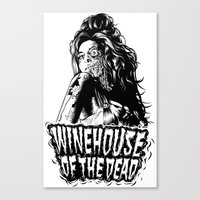 Winehouse of the dead Canvas Print