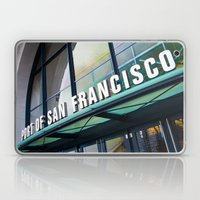 Port Of San Francisco Laptop & iPad Skin