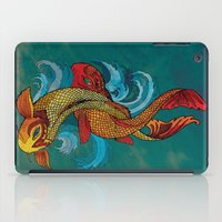 A tale of two fins. iPad Case