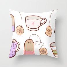 idealist tea Throw Pillow