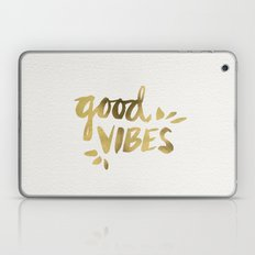 Good Vibes – Gold Ink Laptop & iPad Skin