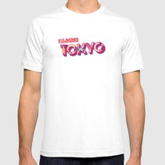 Tokyo White SMALL Mens Fitted Tee